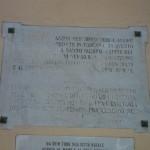 La Targa che S.Jacopo e S.Francesco, quasi cancellata dal tempo