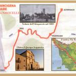 Il percorso della Francigena del mare