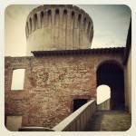 Particolare del Mastio della Fortezza Vecchia