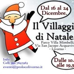 Ultimi giorni con Babbo Natale a Villa Mimbelli