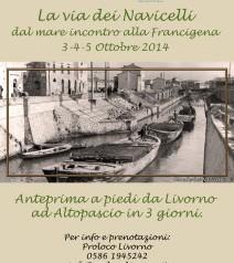 La via dei Navicelli 3-4-5 Ottobre 2014