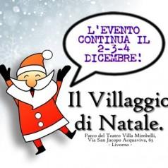 1600 ingressi in 2 giorni… partenza alla grande per il Villaggio di Natale!